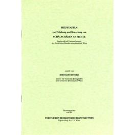 Diverse 01 / Hilfstafeln zur Erhebung und Bewertung von Schälschäden an Fichte