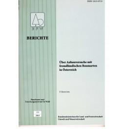 BFW-Berichte 131/2003